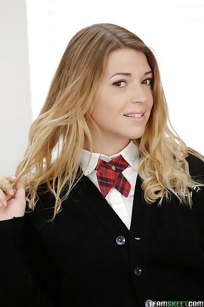 Schoolgirl Jenna Ashley..